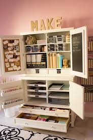 Home Craft Room Ideas - my pink office and craft room reveal design improvised