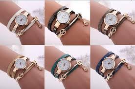 leather wrap bracelet watches images New fashion wrap around bracelet watch crystal rhinestone long jpg