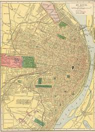map st louis 16 best historical and contemporary maps of st louis mo images