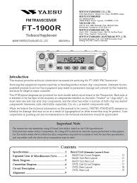 download yaesu ft2000 service manual docshare tips