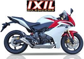 honda cbr600f bikermart honda cbr600f 2011 to 2013 ixil hyperlow stainless steel