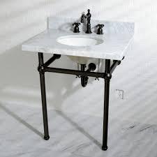 pedestal sink with legs sink sink kingston brass kvpb36ma1 fauceture templeton console