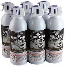 fabric spray paint ebay
