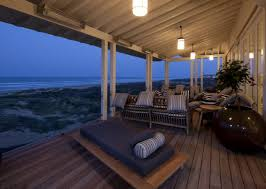 Comfortable Porch Furniture Exterior Design Harmonious Home With Comfortable Outdoor Bed