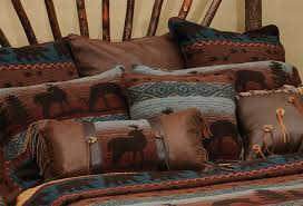 Western Bedding Wooded River Deer Meadow Bedding Collection Luxury Western