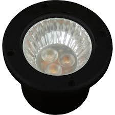 amber flood light lowes shop progress lighting 3 watt black low voltage plug in led well