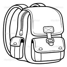 bag coloring page for kids coloring for kids pinterest