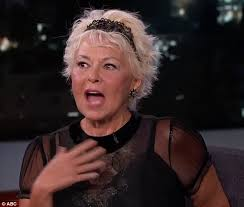new look for roseanne barr 2015 with blonde hair roseanne barr rejects support for kanye west s 2020 presidental bid
