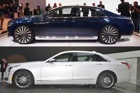 lexus sedan vs acura sedan american luxury face off cadillac ct6 vs lincoln continental concept