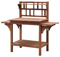 Wooden Potting Benches Garden Decor Potting Bench