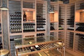 modern wine cellar in south miami u0026 superior split system