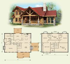 cabin house plans with loft astounding inspiration 4 bedroom log cabin house plans 11 home