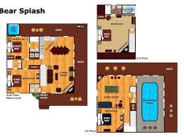 4 bedroom private pool cabin in between gat vrbo