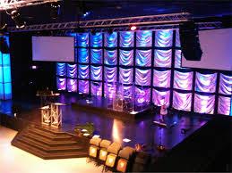 hi ho silver church stage design ideas