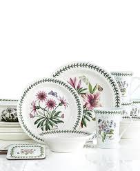 botanic garden portmeirion 21 dinnerware set service for 4