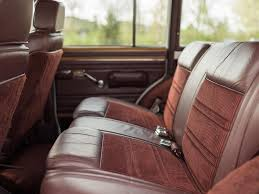jeep wagoneer interior jeep grand wagoneer seat covers velcromag
