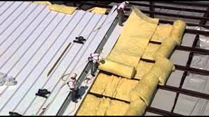 Insulation Blanket Under Metal Roof by Silvercote Lamination Youtube