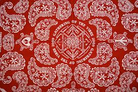 Blood Gang Flag Red Bandana Wallpaper Wallpapersafari