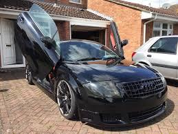audi modified 2000 audi tt 1 8t quattro black modified daily driver fast show