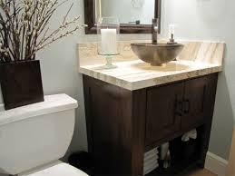 bathroom sink with side faucet peery home renovation job photos vanity vessel sink faucet