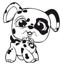 baby dog coloring pages puppy vitlt com