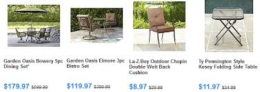 sears patio furniture up to 70 off psa 8 99 discountqueens com