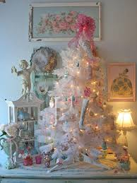 Shabby Chic Christmas Tree by 502 Best Shabby Chic Christmas Images On Pinterest Christmas