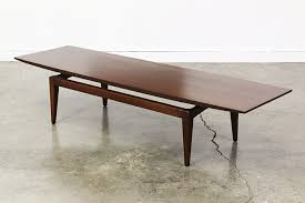 modern walnut coffee table mid century modern walnut coffee table vintage supply store