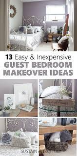 guest bedroom decorating ideas mauve lous guest bedroom ideas a simple spare room refresh rustic