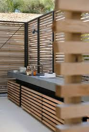cuisine bois beton 1001 idées d aménagement d une cuisine d été extérieure