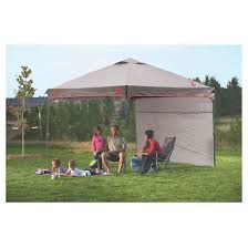 10 X 10 Awning Coleman Instant Canopy With Sunwall 10 U0027x10 U0027 Gray Target