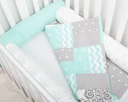 crib bumper pads etsy
