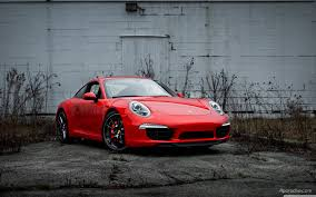 red porsche 911 red 2013 porsche 911 991 carrera s with black wheels brought to