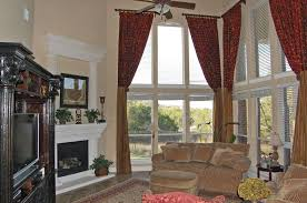 High Ceiling Curtains by Decorations Stunning Black Sheer Curtains Ideas For White Wide