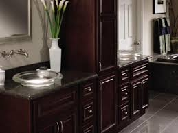 Granite Bathroom Countertops HGTV - Bathroom countertop design