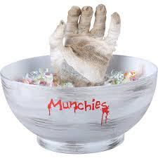 gemmy animated mummy bowl decoration