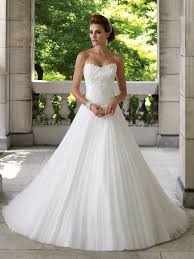aline wedding dresses classic sweetheart chapel organza a line wedding dress with