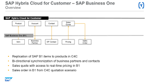 sap hybris cloud for customer integration with sap business one