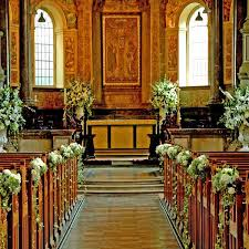 Pew Decorations For Wedding The 25 Best Church Wedding Flowers Ideas On Pinterest Church