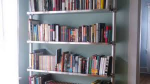 sturdy bookcase for heavy books diy compression bookcases provide airy and wall friendly shelving