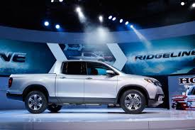 lexus pickup truck 2016 all new 2017 honda ridgeline pickup truck makes world debut at