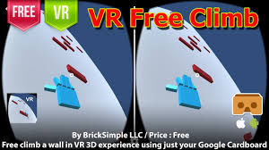 Google Wall Vr Free Climb Climb A Wall In Vr 3d Experience Using Just Your