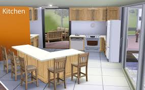 modern family kitchen mod the sims 1 stone and stucco blvd 2br 3bath