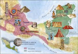 mayan empire map mysteries ancient apocalypse the collapse