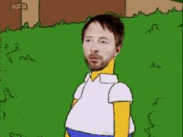 Thom Yorke Meme - radiohead thom yorke how to disappear completely