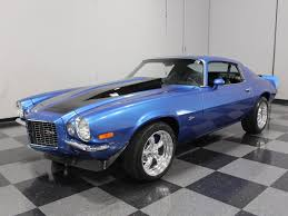 1973 chevy camaro z28 for sale blue 1973 chevrolet camaro rs for sale mcg marketplace