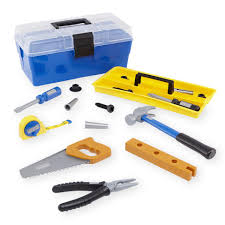 just like home workshop tool box toys