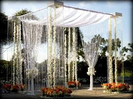 wedding arches for rent houston acrylic lucite plexiglass wedding canopy chuppah rentals miami
