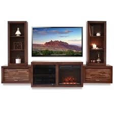 Fireplace Console Entertainment by Floating Fireplace Entertainment Center Console Eco Geo Mocha