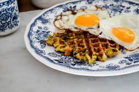 thanksgiving leftovers waffles in jennie s kitchen